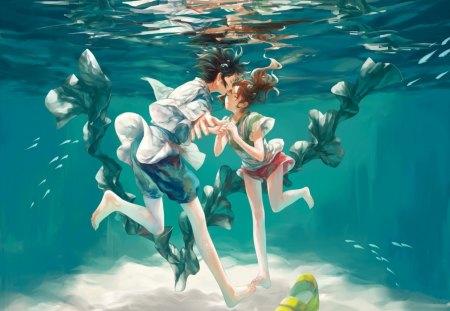 Always With Me Spirited Away Anime Background Wallpapers On Desktop Nexus Image 1301048