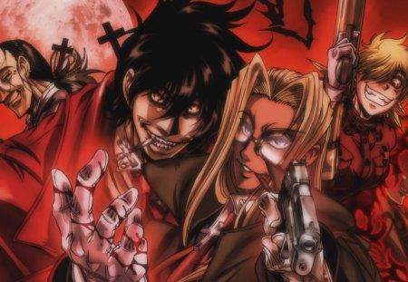 Hellsing Ultimate X Hellsing Anime Background Wallpapers On Desktop Nexus Image 1301509