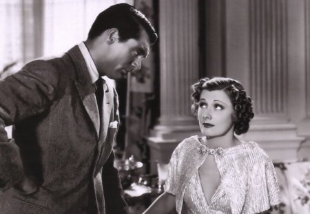 Cary Grant - Irene Dunne - the awful truth, movie stars, irene dunne, cary grant
