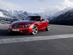 front of red bmw z4 zagato