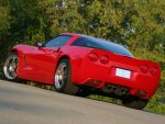 2004 chevy corvette backside