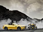 mercedes slk amg and ducati streetfighter