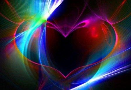 Rainbow Heart - Other & Abstract Background Wallpapers on Desktop Nexus (Image 1306019)