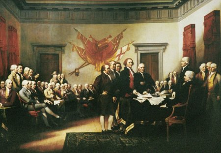 Declaration Of Independence - the founding fathers, 4th of july, Declaration Of Independence, independence