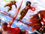 Goku VS Naruto, Luffy, Ichigo