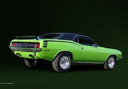 1970 Plymouth Hemi Cuda - Plymouth & Cars Background