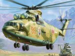 Soviet transport helicopter