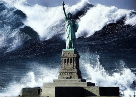 TSUNAMI will HIT AMERICAN ECONOMY sooner or                       later due to 23 trillion debt