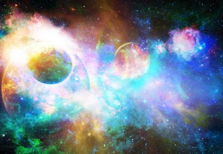 A Galaxy Of Colors Galaxies Space Background Wallpapers On Desktop Nexus Image 1308109