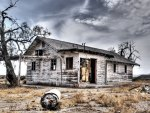 abandoned country house hdr