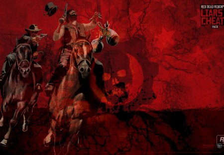 Red Dead Gears - games, videogames, gears of war, rdr, playstation, xbox, 360, 3, red dead redemption, gow