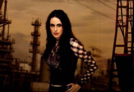 Sharon Den Adel Is Pretty Music Entertainment Background