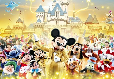 Disney Characters 3d And Cg Abstract Background Wallpapers On