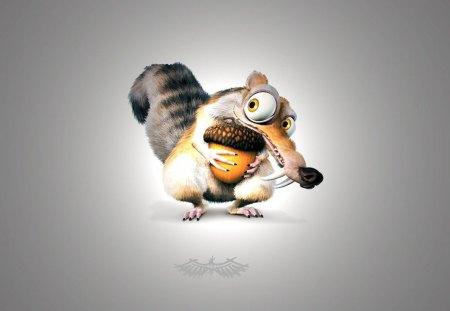 Ice Age Squirrel (Scrat) - squirrel, age, ice, scrat, ice age