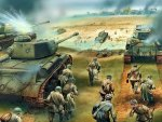 The Red Army offensive