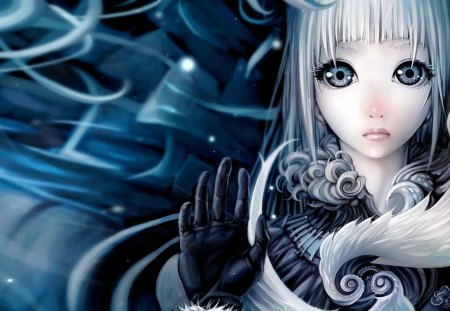 Girl With Mysterious Eyes Other Anime Background Wallpapers On