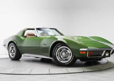 Corvette Stingray 454 (C3) '1970–72 - vette, chevy, stingray, Corvette, Stingray454