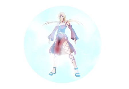 Tsunade - female, white background, kunoichi, naruto shippuden, tsunade, girl, hokage, anime, lone