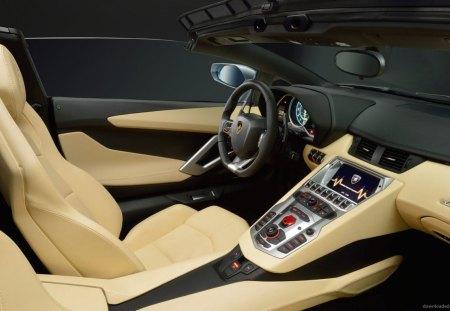 Inside View - car, inside, view, lamborghini