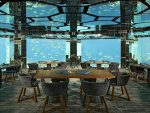 Kihaava Resort Underwater Restaurant Maldives