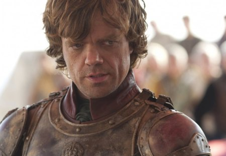 Game of Thrones - Tyrion Lannister - westeros, game of thrones, picture, show, tv show, tyrion lannister, wallpaper, tv series, house lannister, super, peter dinklage, george r r martin, a song of ice and fire, hbo, medieval, entertainment, skyphoenixx1, great