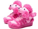 Pink poodle shoes