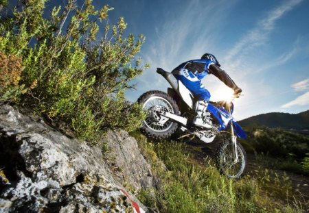 Mountain Motorcross Fun - mountain, offroad motorbike, motorcross, offroad, motocross