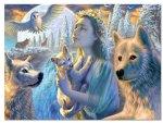 Wolves & Girl