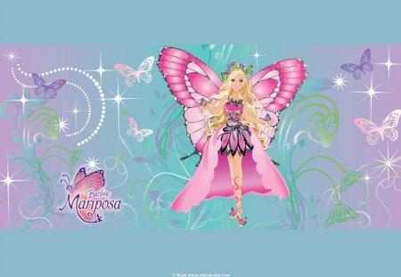 Barbie Mariposa Wallpaper 5 Movies Entertainment Background