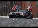 mercedes benz slr black arrow