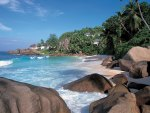 Anse Source d agent La Digue Seychelles beach