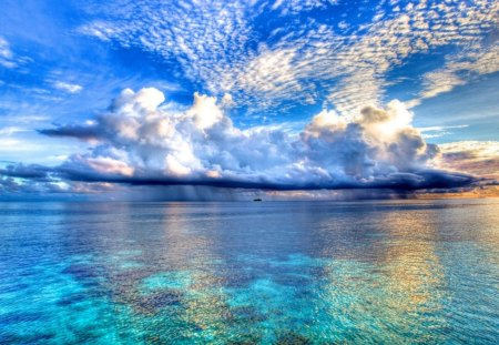 Shades Of Blue - Ocean, Sea, Tranquil, Blue