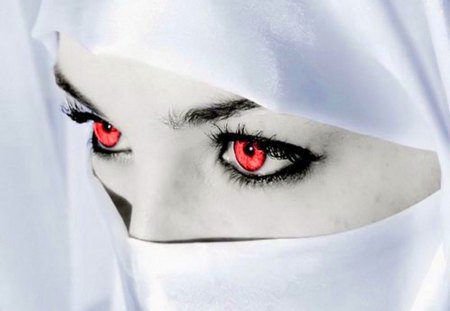 Scarlet eyes - 3D and CG & Abstract Background Wallpapers on