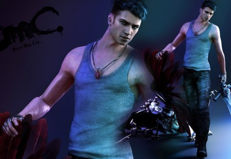 DMC Devil May Cry - ps3, dante, game, capcom, devil may cry, ninja theory, vergil, xbox 360, dmc