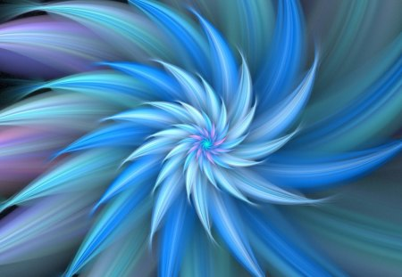 Cold blue crystal - Cold, Blue, Crystal, Winter