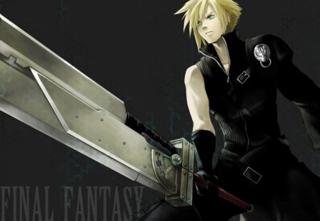 Cloud Strife Final Fantasy Video Games Background