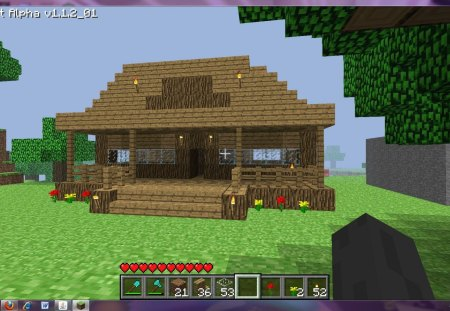 Minecraft Village House Other Video Games Background Wallpapers On Desktop Nexus Image 1327017