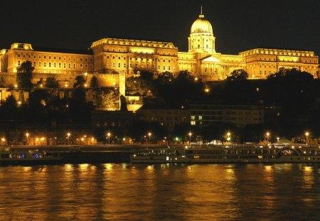Buda Castle Budapest Hungary Other Architecture Background