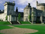 manicured irish castle