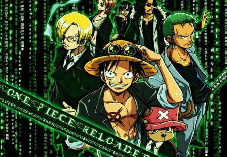 ONE PIECE RELOADED - luffy, zoro, sanji, ussop