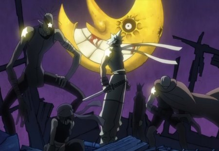 Star Tribe - moon, sword, anime, soul eater