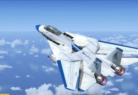 F 14 Tomcat Fsx Military Aircraft Background Wallpapers On Desktop Nexus Image 133708