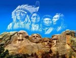 Spirits of Mt Rushmore
