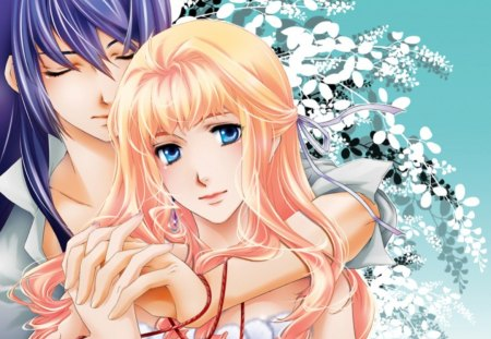 True ♡ Love - pretty, alto saotome, sweet, macross frontier, anime, love, beauty, macross frontie, anime girl, long hair, couple, female, lovely, romantic, romance, sheryl nome, hug, cute, girl, beuatiful, lover, macross