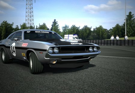 Challenger R/T RM - race, mans, le, car, dodge
