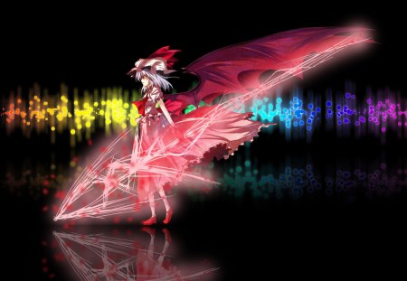 Remilia Scarlet - girl, touhou project, Scarlet, magical spear, remilia scarlet