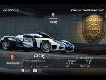 Koenigsegg CCX Police Car