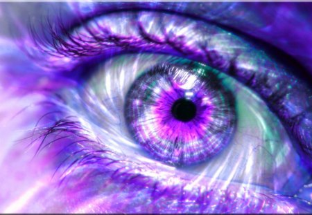 Purple Eye - lavender, eyes, purple, eye
