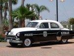 1952 chevrolet styleline sedan police car