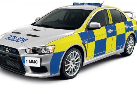 Lancer Evolution  Uk police car - cars, photo, police, uk